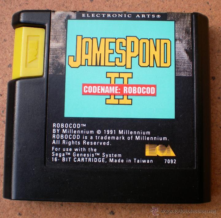 JUEGO JAMESPOND JAMES POND II SEGA MEGADRIVE (Juguetes - Videojuegos y Consolas - Sega - MegaDrive)