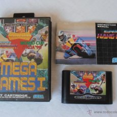 Videojuegos y Consolas: MEGADRIVE JUEGO MEGA GAMES II SEGA MEGA DRIVE. Lote 44636434