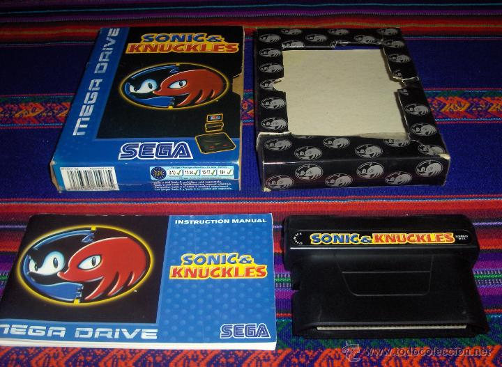 Knuckles sonic mega drive and