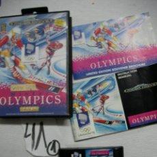 Videojuegos y Consolas: ANTIGUO JUEGO MEGADRIVE - OLYMPICS - LILLEHAMMER 94 - EDICION LIMITADA. Lote 45938028
