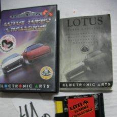 Videojuegos y Consolas: ANTIGUO JUEGO MEGADRIVE - LOTUS TURBO CHALLENGE. Lote 45938046