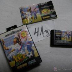 Videojuegos y Consolas: ANTIGUO JUEGO SEGA MEGADRIVE - SUPER KICK OFF. Lote 46235764