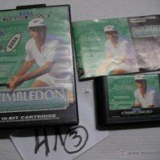 Videojuegos y Consolas: ANTIGUO JUEGO SEGA MEGADRIVE - WIMBLEDON. Lote 46235969