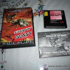 Videojuegos y Consolas: SEGA MEGADRIVE JUEGO SHADOW OF THE BEAST COMPLETO. Lote 47127601