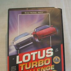 Videojuegos y Consolas: LOTUS TURBO CHALLENGE - SEGA MEGADRIVE - MEGA DRIVE - 16 BIT - COMPLETO. Lote 47278069