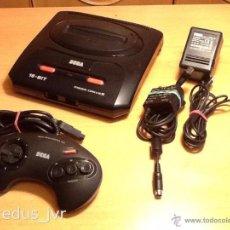 Videojuegos y Consolas: CONSOLA SEGA MEGADRIVE MEGA DRIVE LOTE COMPLETA EN EXCELENTE ESTADO. Lote 48209902