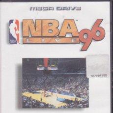Videojuegos y Consolas: SEGA MEGA DRIVE 16 BITS -- NBA 96 --. Lote 48580987