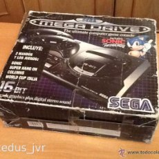 Videojuegos y Consolas: CONSOLA SEGA MEGADRIVE MEGA DRIVE 16-BIT PAL LOTE COMPLETA CON CAJA Y EMBALAJE. Lote 27136524
