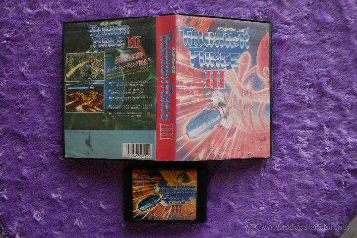 THUNDER FORCE 3 III SEGA MEGA DRIVE GENESIS JAP MEGADRIVE BOOTLEG (Juguetes - Videojuegos y Consolas - Sega - MegaDrive)