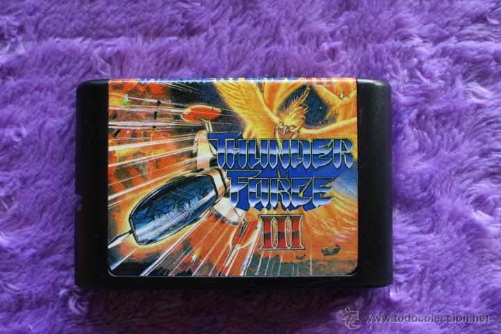Videojuegos y Consolas: Thunder Force 3 III Sega Mega Drive Genesis JAP Megadrive Bootleg - Foto 2 - 49002871
