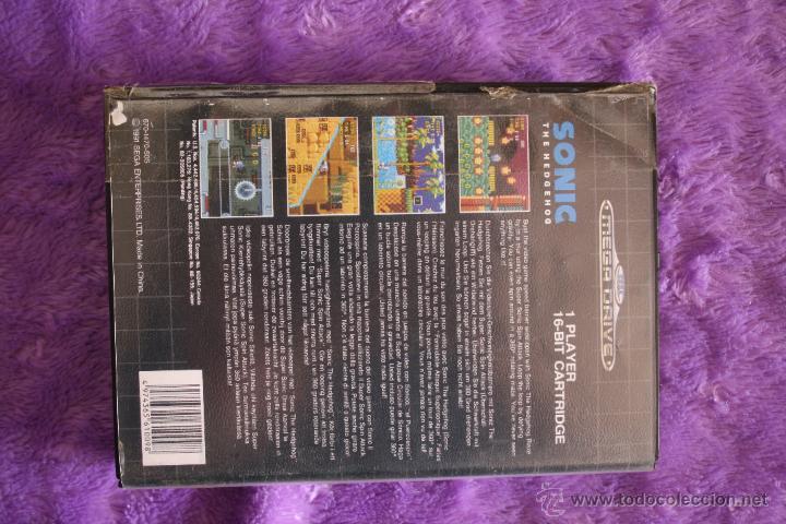 Videojuegos y Consolas: Sonic SEGA Mega Drive Completo Megadrive - Foto 2 - 49345127