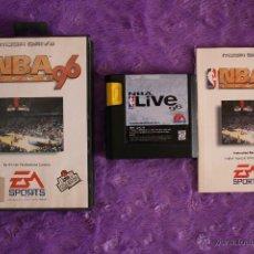 Videojuegos y Consolas: NBA LIVE 96 SEGA MEGA DRIVE COMPLETO MEGADRIVE. Lote 54094600