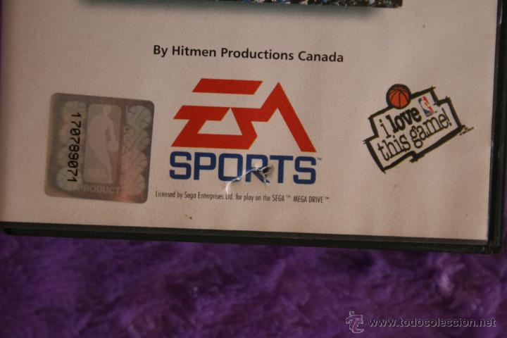 Videojuegos y Consolas: NBA Live 96 SEGA Mega Drive Completo Megadrive - Foto 2 - 54094600