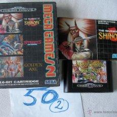 Videojuegos y Consolas: ANTIGUO JUEGO SEGA MEGADRIVE MEGA GAMES 2 CON INSTRUCCIONES . Lote 49510413