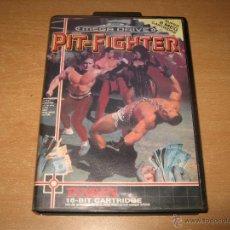 Videojuegos y Consolas: PIT FIGHTER SEGA MEGADRIVE PAL ESPAÑA COMPLETO TENGEN 8 MEGAS CARTUCHO. Lote 49780948