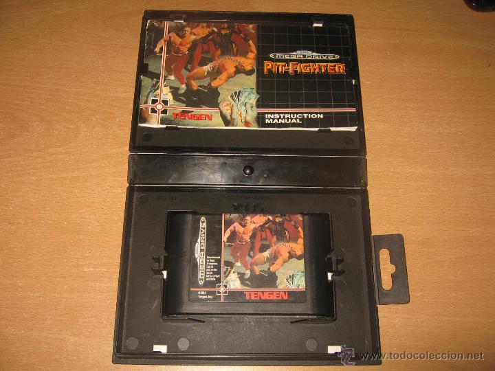 Videojuegos y Consolas: PIT FIGHTER SEGA MEGADRIVE PAL ESPAÑA COMPLETO TENGEN 8 MEGAS CARTUCHO - Foto 3 - 49780948