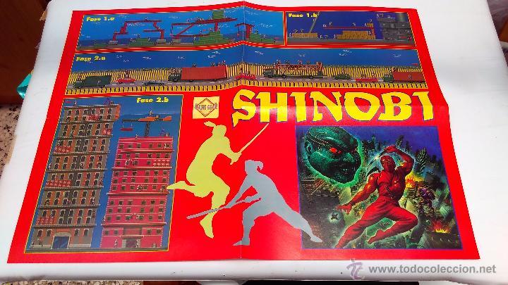 POSTER DOBLE HOBBY CONSOLAS SHINOBI (Juguetes - Videojuegos y Consolas - Sega - MegaDrive)