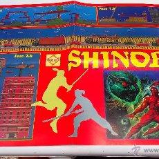 Videojuegos y Consolas: POSTER DOBLE HOBBY CONSOLAS SHINOBI. Lote 50141909