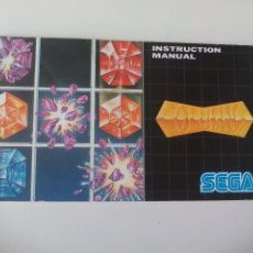 Video Games and Consoles - Manual de Instrucciones del juego de Sega Mega Drive Columns. Instruction Manual - 50588655