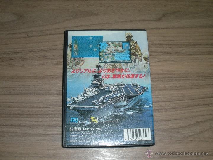 Videojuegos y Consolas: SUPER DAISENRYAKU Completo SEGA MEGADRIVE jp MGA DRIVE - Foto 2 - 50599433