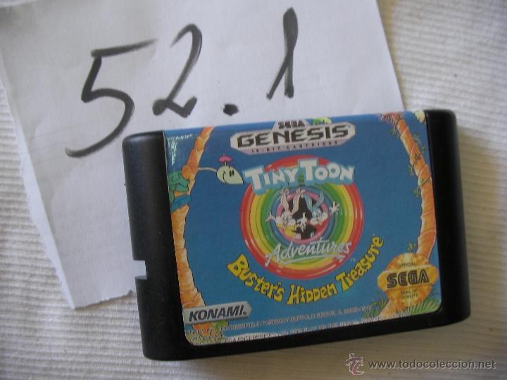 ANTIGUO JUEGO SEGA MEGADRIVE - TINY TOON AVENTURES (Juguetes - Videojuegos y Consolas - Sega - MegaDrive)