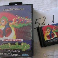 Videojuegos y Consolas: ANTIGUO JUEGO SEGA MEGADRIVE - LEMMINGS. Lote 50599925