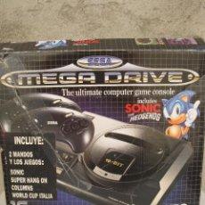 Videojuegos y Consolas: CONSOLA SEGA MEGA DRIVE - EN SU CAJA ORIGINAL.. Lote 50687554