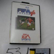 Videojuegos y Consolas: ANTIGUO JUEGO SEGA MEGADRIVE - FIFA 96 SOCCER - ENVIO GRATIS A ESPAÑA . Lote 50799370