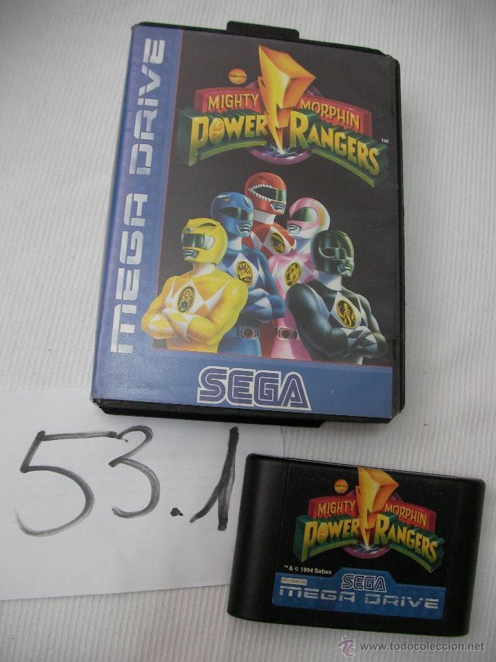 ANTIGUO JUEGO SEGA MEGADRIVE - POWER RANGERS (Juguetes - Videojuegos y Consolas - Sega - MegaDrive)