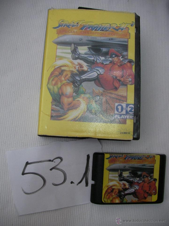 ANTIGUO JUEGO SEGA MEGADRIVE - STREET FIGHTER II - EDICION ESPECIAL (Juguetes - Videojuegos y Consolas - Sega - MegaDrive)