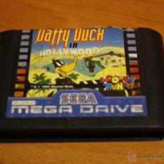 Videojuegos y Consolas: DUFFY DUCK IN HOLLYWOOD SEGA MEGADRIVE CARTUCHO PAL ESPAÑA. Lote 183402572