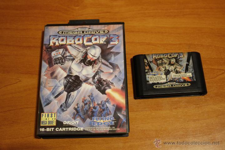 Robocop 3 Sega Megadrive Pal Espana Caja Y Cart Sold At Auction 51060011