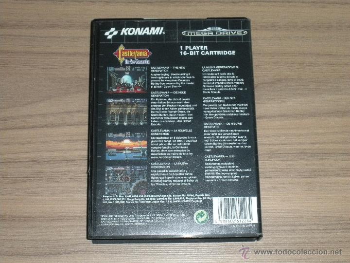 Videojuegos y Consolas: CASTLEVANIA THE NEXT GENERATION Completo SEGA MEGADRIVE Pal España MEGA DRIVE - Foto 3 - 202034341