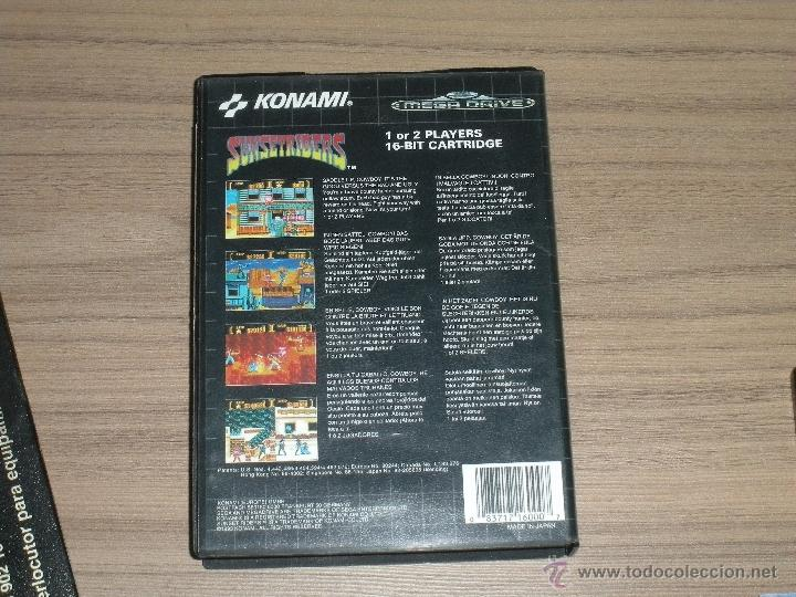 Videojuegos y Consolas: SUNSETRIDERS Completo SEGA MEGADRIVE Pal España MEGA DRIVE - Foto 3 - 51548273