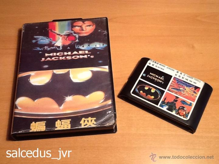 4 En 1 Juegos Moonwalker Batman Returns Thunder Comprar