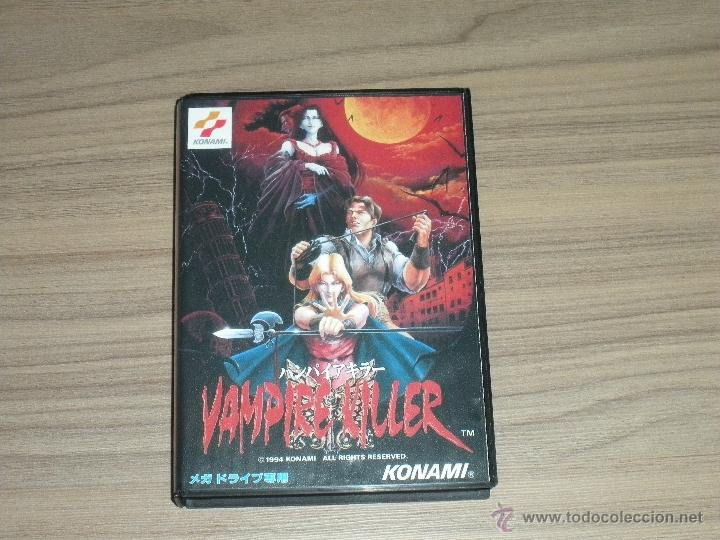 Videojuegos y Consolas: VAMPIRE KILLER Completo SEGA MEGADRIVE jp MEGA DRIVE Castlevania - Foto 2 - 51696778
