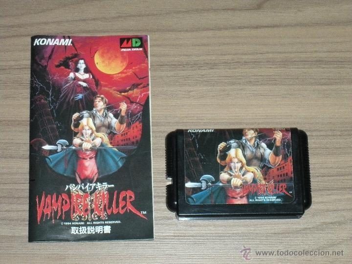 Videojuegos y Consolas: VAMPIRE KILLER Completo SEGA MEGADRIVE jp MEGA DRIVE Castlevania - Foto 5 - 51696778