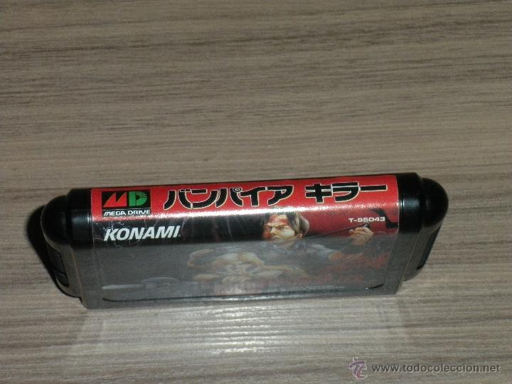 Videojuegos y Consolas: VAMPIRE KILLER Completo SEGA MEGADRIVE jp MEGA DRIVE Castlevania - Foto 8 - 51696778
