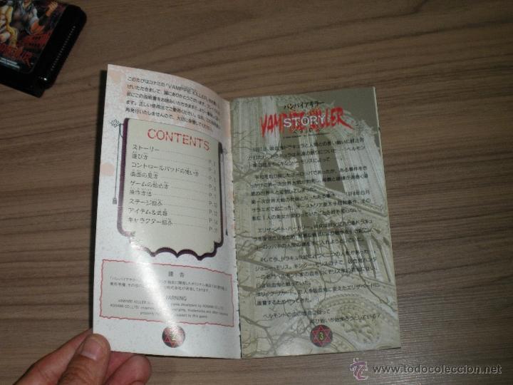 Videojuegos y Consolas: VAMPIRE KILLER Completo SEGA MEGADRIVE jp MEGA DRIVE Castlevania - Foto 9 - 51696778