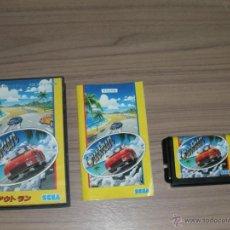 Videojuegos y Consolas: OUTRUN COMPLETO SEGA MEGADRIVE JP MEGA DRIVE OUT RUN. Lote 52443142