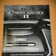 Video Games and Consoles - Manual consola SEGA Mega Drive Megadrive II 2, original 1993 ercom - 52954932