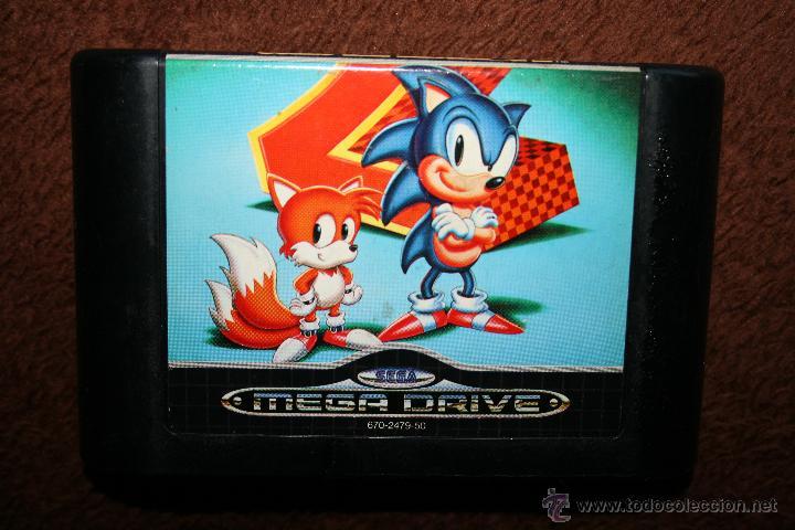 SONIC 2 SEGA MEGA DRIVE PAL (Juguetes - Videojuegos y Consolas - Sega - MegaDrive)