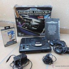 Videojuegos y Consolas: CONSOLA MEGA DRIVE, MEGADRIVE CON SONIC. Lote 54451801