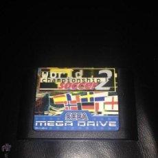 Videojuegos y Consolas: WORLD CHAMPIONSHIP SOCCER 2 JUEGO SEGA MEGADRIVE MEGA DRIVE PAL VERSIÓN ESPAÑOLA. Lote 54620723