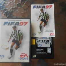 Videojuegos y Consolas: JUEGO FIFA 97 COMPLETO SEGA MEGA DRIVE MEGADRIVE. Lote 55974487