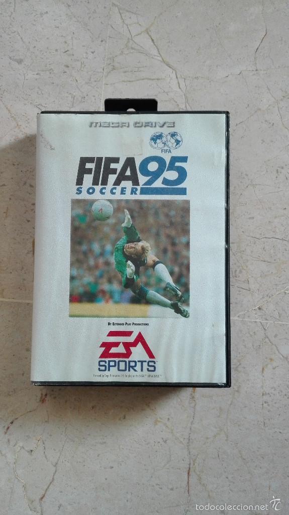 JUEGO FIFA 95 COMPLETO SEGA MEGA DRIVE MEGADRIVE (Juguetes - Videojuegos y Consolas - Sega - MegaDrive)