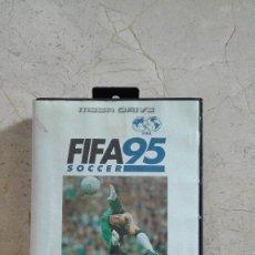 Videojuegos y Consolas: JUEGO FIFA 95 COMPLETO SEGA MEGA DRIVE MEGADRIVE. Lote 55976051