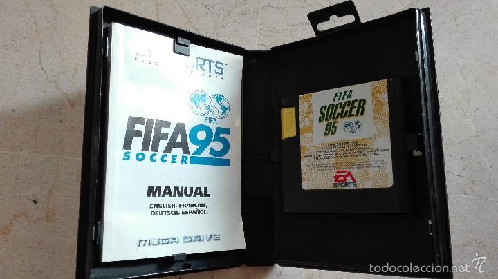 Videojuegos y Consolas: JUEGO FIFA 95 COMPLETO SEGA MEGA DRIVE MEGADRIVE - Foto 2 - 55976051
