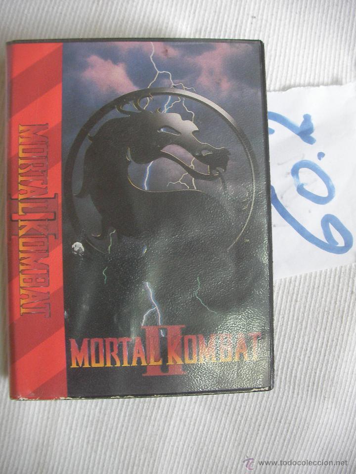Videojuegos y Consolas: ANTIGUO JUEGO MORTAL KOMBAT II - Foto 2 - 56075026