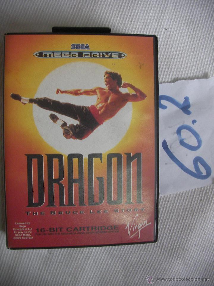 ANTIGUO JUEGO DRAGON - LA HISTORIA DE BRUCE LEE (Juguetes - Videojuegos y Consolas - Sega - MegaDrive)